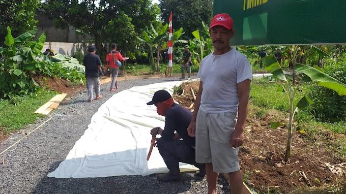 Warga Ikhlas Wakafkan Tanah Untuk Pelebaran Jalan Program TMMD
