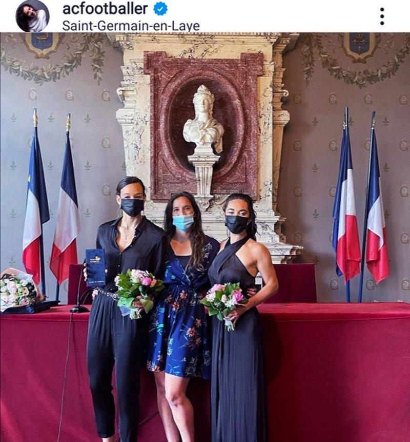 Matrimonio de Christiane Endler y Sofía Orozco
