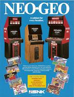 Publicidad recreativas Neo Geo