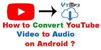 How to convert YouTube video to audio on android?