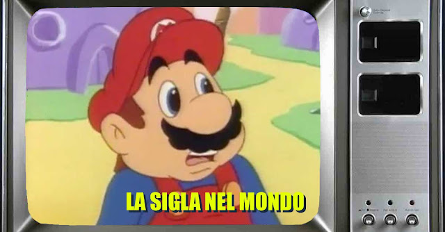 Quali sigle hanno accompagnato il cartone animato di Super Mario nei paesi del mondo?