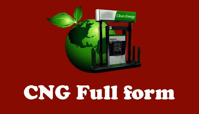 CNG full form in Hindi - सीएनजी क्या है?