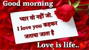 Top 10 Best Good Morning Sayari in hindi   Good morning love sayari images