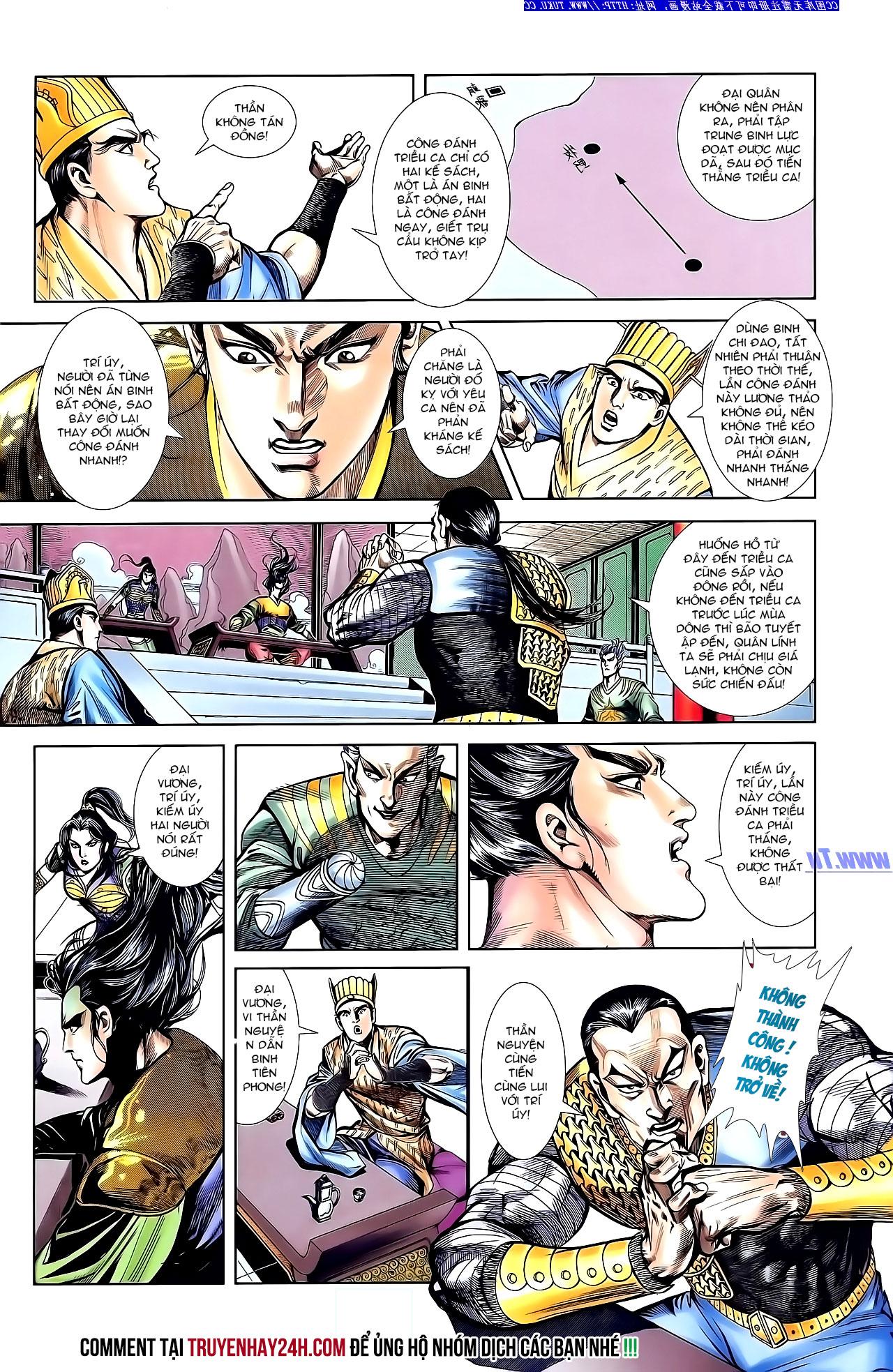 Cơ Phát Khai Chu Bản chapter 143 trang 27