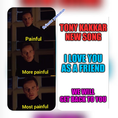 Tony kakkar song is the most painful