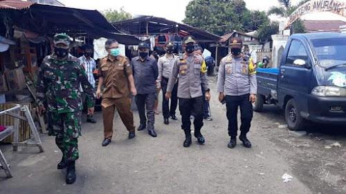 Laksanakan Operasi Yustisi, Polres Minsel Gelar Razia Masker