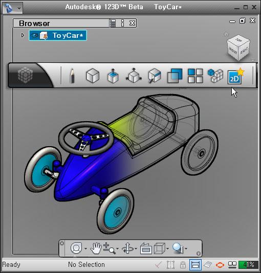 Korea3D: CAD Free 3D Modeling Software Autodesk 123D BETA 5