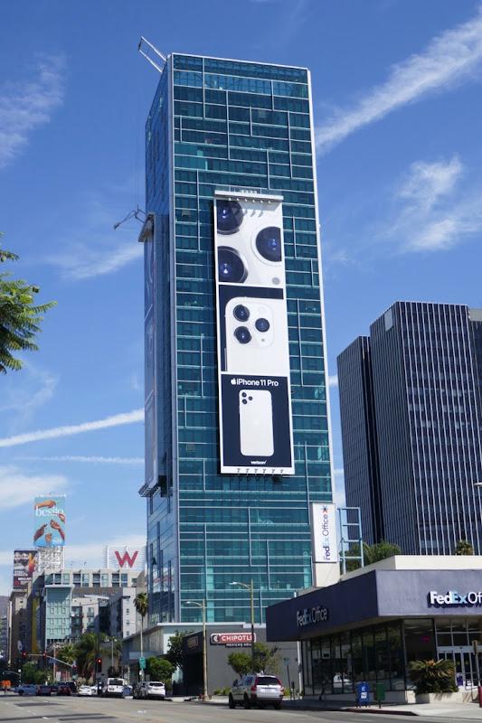 Apple iPhone 11 Pro billboard