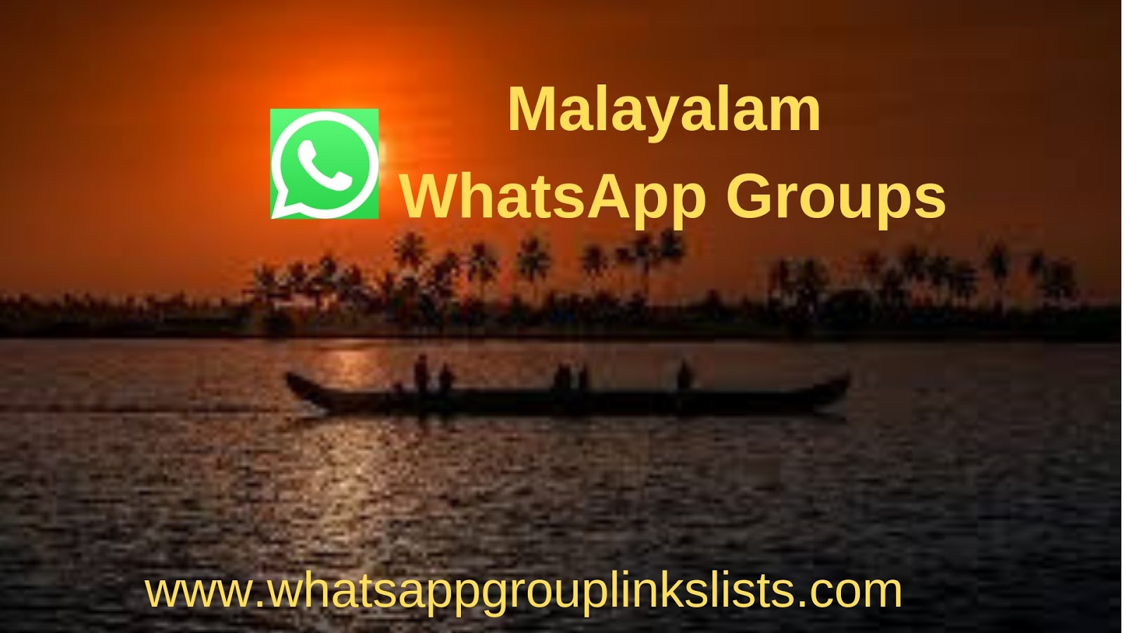 Join Malayalam WhatsApp Group Links List