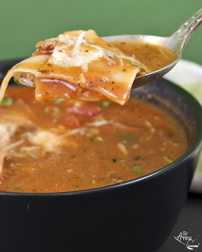 Lasagnesuppe