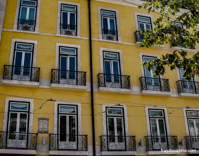 Casarão na Praça Luiz de Camões, Chiado, Lisboa