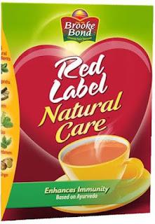 Red Label Natural Care Cardamom, Ginger, Liquorice, Tulsi Tea Box  (500 g)