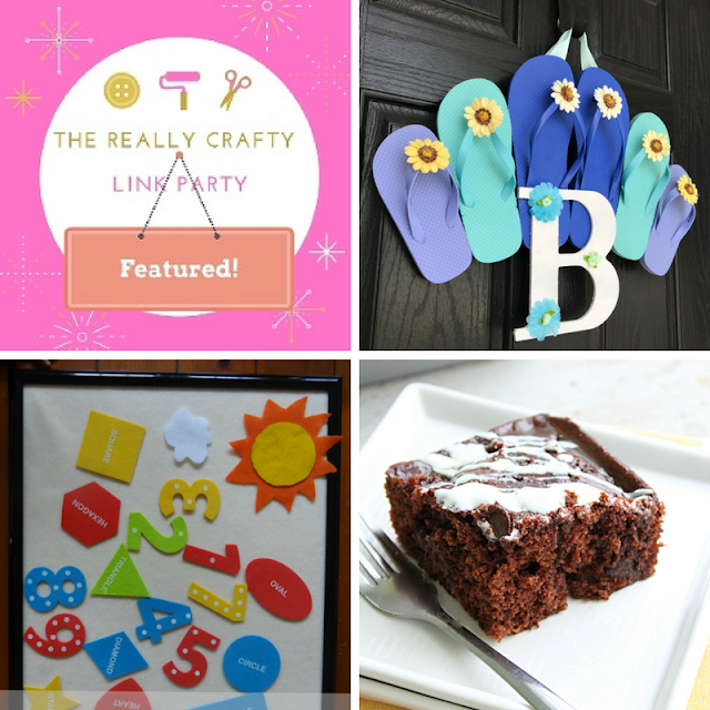 The Really Crafty link Party #72 featured posts!