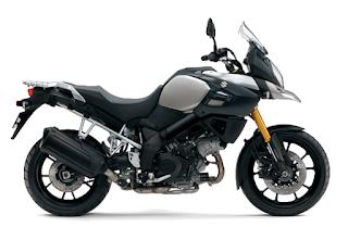 Suzuki V-Strom 1000 ABS Mystic Silver Metalic