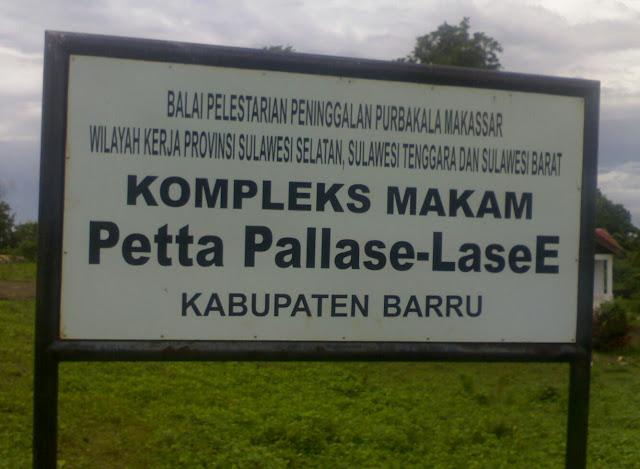 Gelar raja Barru Petta Pallase-lase'e merupakan salah satu raja yang memiliki gelar unik