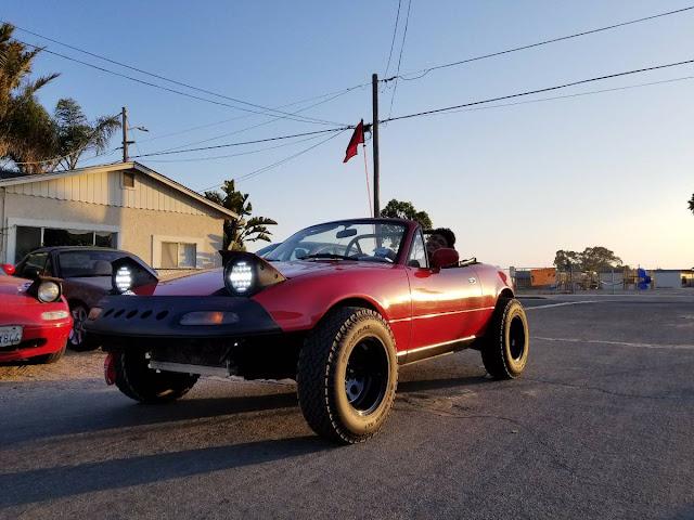 Daily Turismo: Beached: 1991 Mazda MX-5 Miata