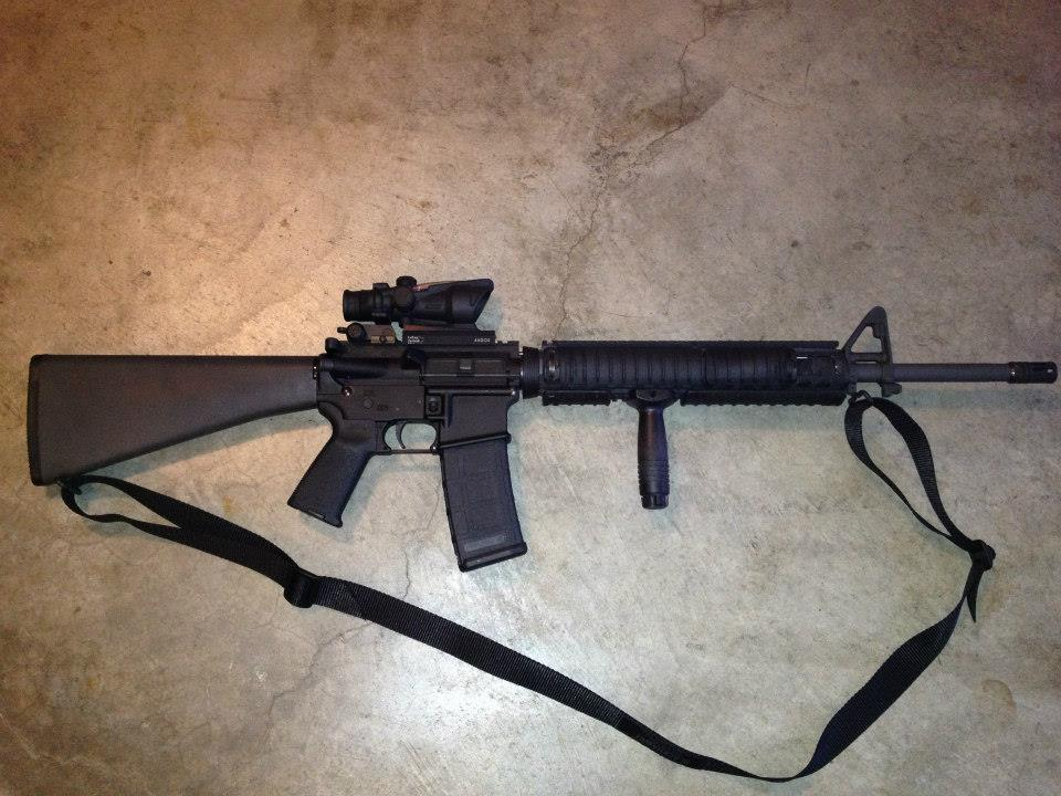 RECCE ROOM: This is My Rifle, This is My Gun M16a4 Acog