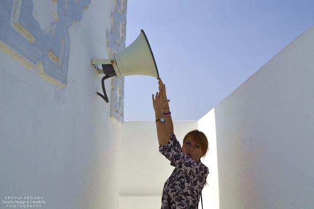 Zwiedzanie meczetu w Casablance
