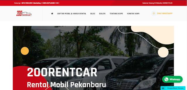 rental mobil pekanbaru 200 Rent Car