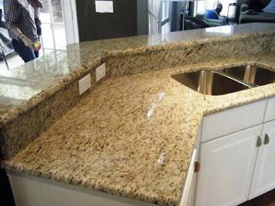Desain Meja Dapur Dari  Batu Marmer Untuk Rumah Minimalis 5