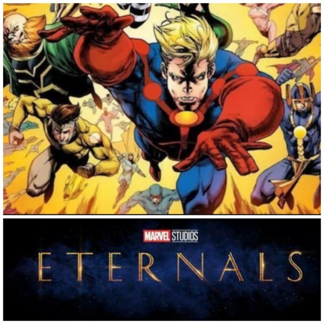 Marvel Movies in Phase 4- Eternals