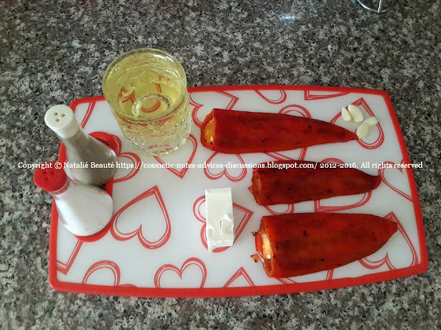 MAYONNAISE WITH ROASTED PEPPER AND CHEESE COOKING POST AND RECIPE NATALIE BEAUTE