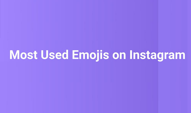 Most used emojis by brands and influencers