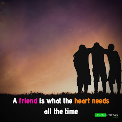 Best Friend Whatsapp Status, Friendship Status In English