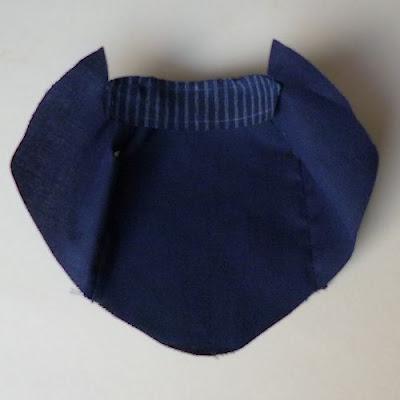 Sew under collar