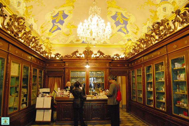 Farmacia de Santa Maria Novella en Florencia