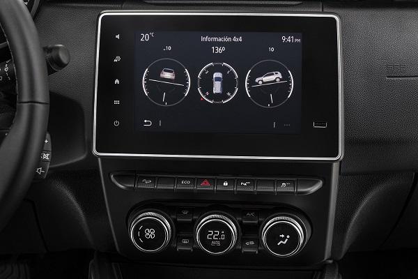Interior Renault Duster 2021