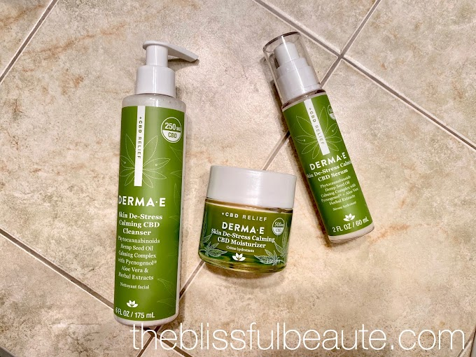 Derma E Skin De-Stress Calming CBD Collection | Review