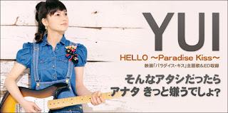 YUI - Hello paradise kiss (~ki ga suru grammar)