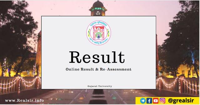 Online Result & Re-Assessment - Gujarat University