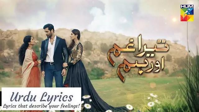 Tera Ghum Aur Hum OST Lyrics - Naveed Nashad - Khalil Ur Rehman Qamar