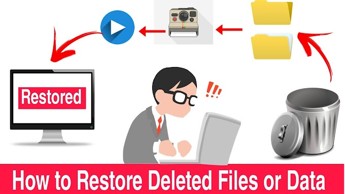 How to Recover Deleted Files or Data