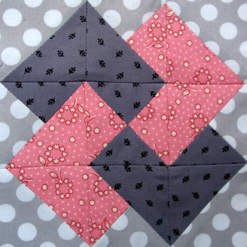 Card Trick Quilt Block - Free Pattern