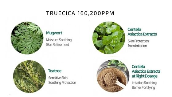 Truecica 160,200ppm  Miracle Acne Clear Foam