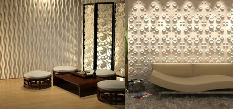 Decorative 3D wall panels, 3D wall panel with texture