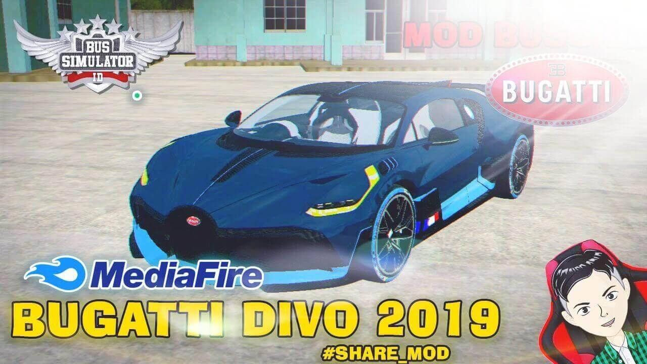 Mod Bussid Bugatti Divo 2019 Supercar