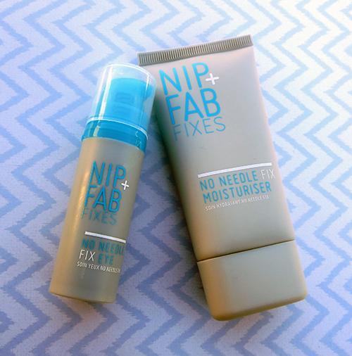 Nip + Fab Fixes No Needle Fix Moisturizer and the No Needle Fix Eye Cream