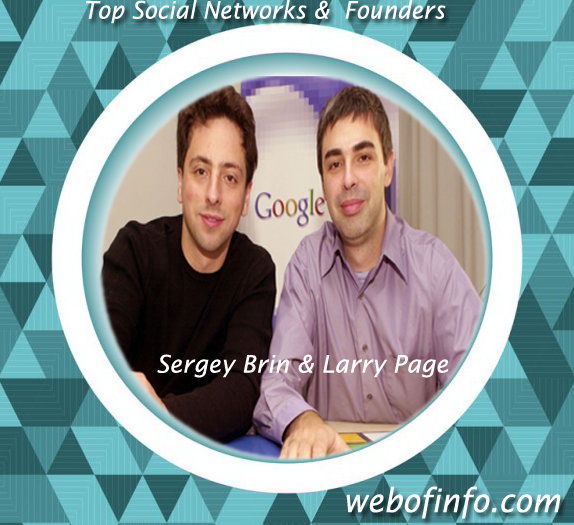 founder of google-sergey brin and larrypage