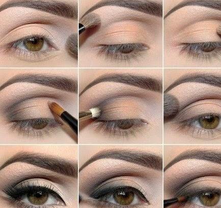 Como Pintarse Los Ojos Paso A Paso Como Maquillarse Los Ojos Paso - Paso-a-paso-como-pintarse-los-ojos