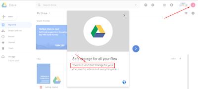 Google Drive Unlimited, email Edu