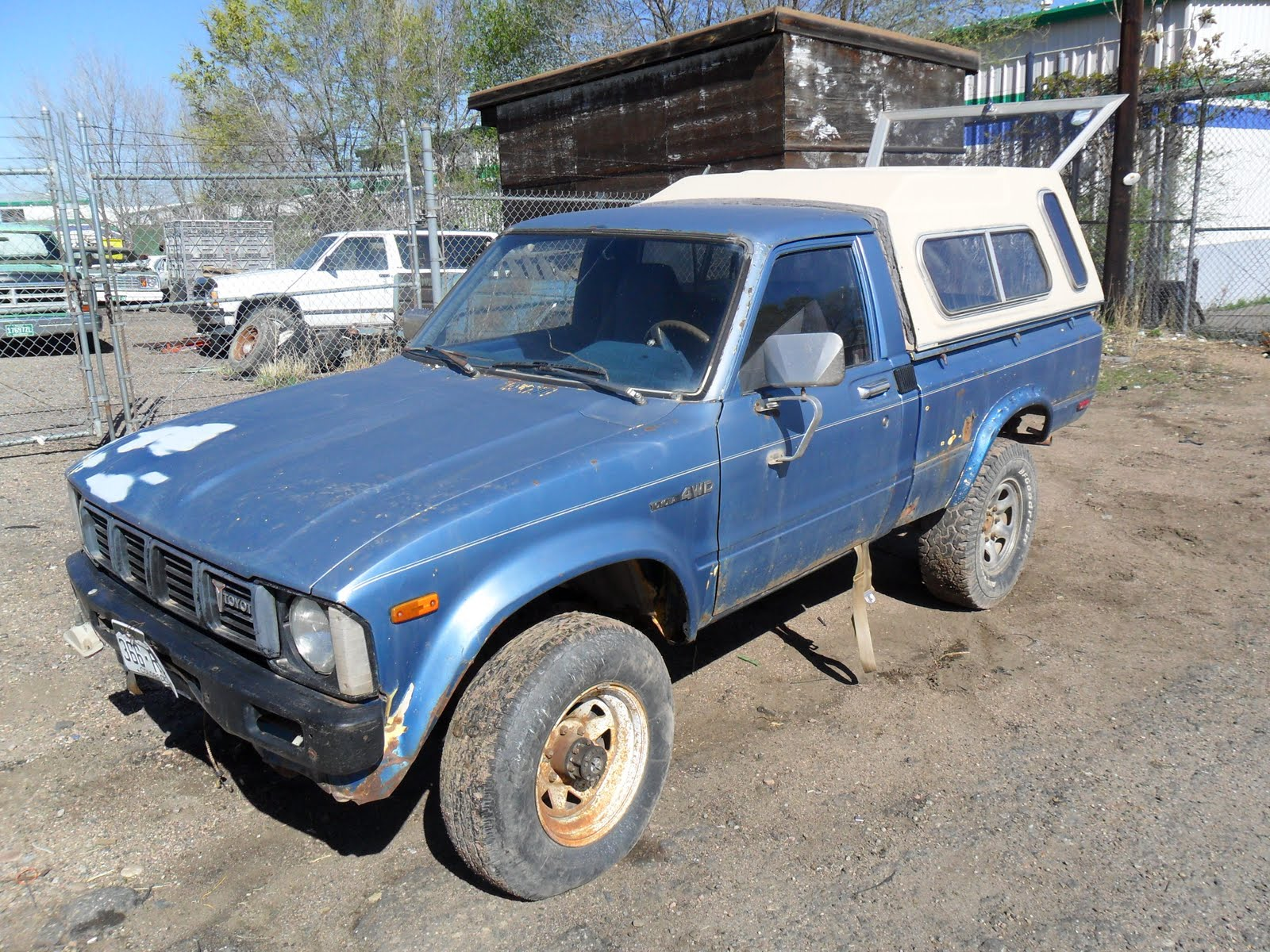 Toyota Pickup Parts >> New Arrivals At Jim S Used Toyota Truck Parts 1980 Toyota