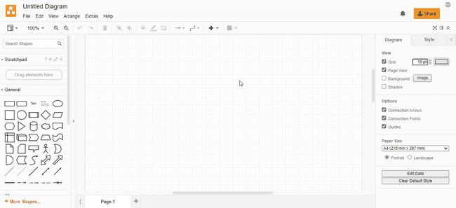 interfaz aplicación online gratis para hacer mapas conceptuales