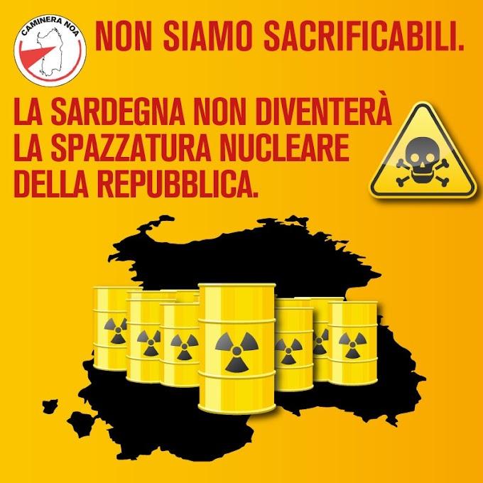 Non siamo sacrificabili. La Sardegna non diventerà la spazzatura nucleare della Repubblica.
