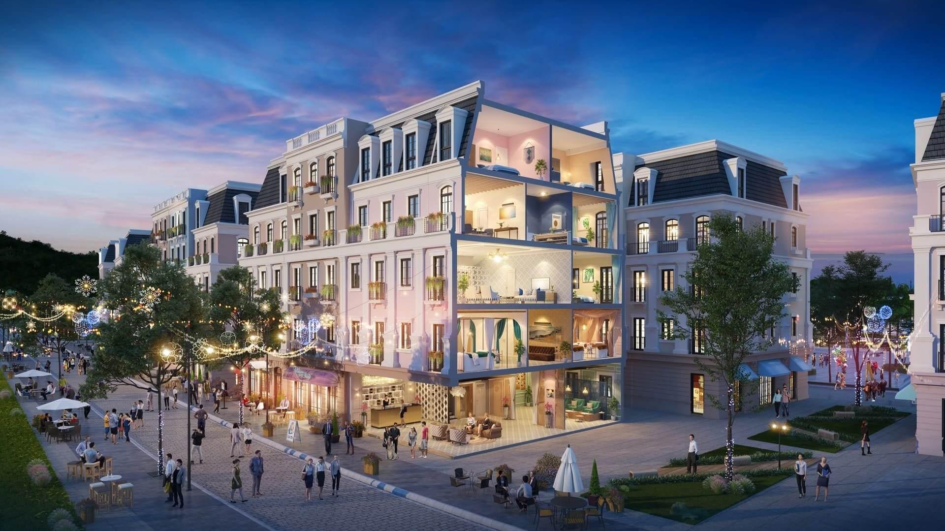 Eurowindow Residence là tổ hợp shophouse tại Tây Hồ ( Ảnh minh họa ).