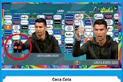 Wow, Harga saham Coca Cola Turun Rp.57 Triliun. Cuman gara gara Ronaldo, Kox Bisa?