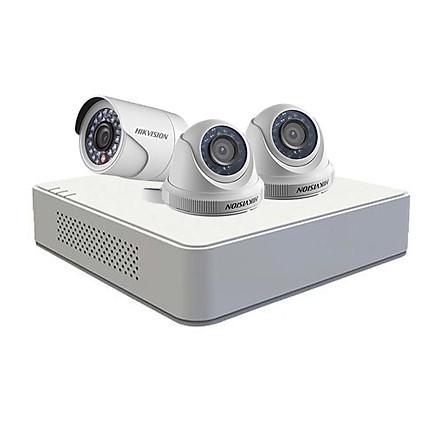 Bộ 3 Camera + Đầu ghi hình 4 kênh giá rẻ